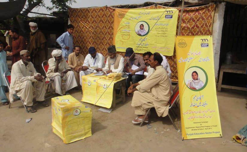 Supplement Stipend Pilot Programme (SSPP) Awareness Campaign in Districts Kasur and  Bhakkar